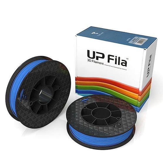 Box of UP Genuine Original ABS 1.75mm diameter filament 2 spools of 500g per pack in light blue