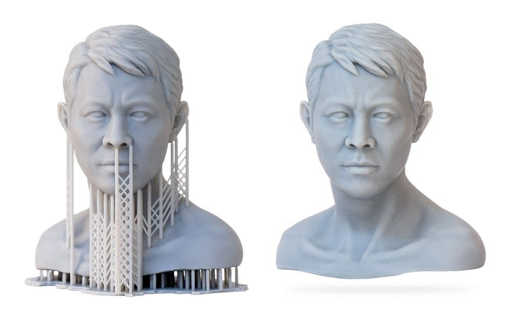moonray dlp high quality high detailed male bust