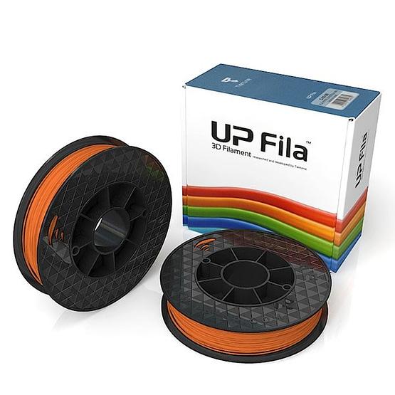 Box of UP Genuine Original ABS 1.75mm diameter filament 2 spools of 500g per pack in california orange
