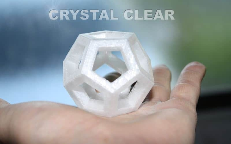 Crystal (high impact) 500g filament